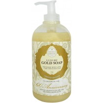60 Anniversary Luxury Gold Soap liquid Nesti Dante 500 ml
