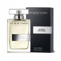 Yodeyma Acqua per Uomo fragranza maschile ispirata al profumo originale Acqua di Giò 100 ml